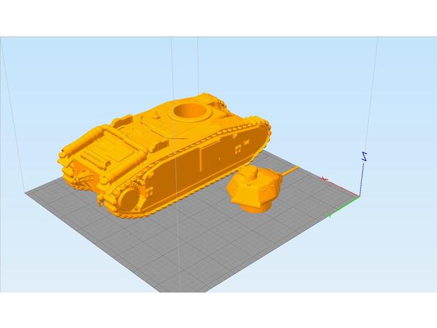 Les blindés et véhicules français en impression 3D 5d3c9710