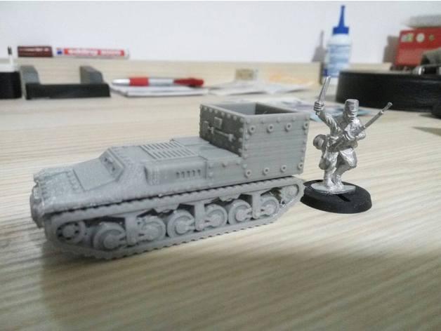 Les blindés et véhicules français en impression 3D 64ca1410