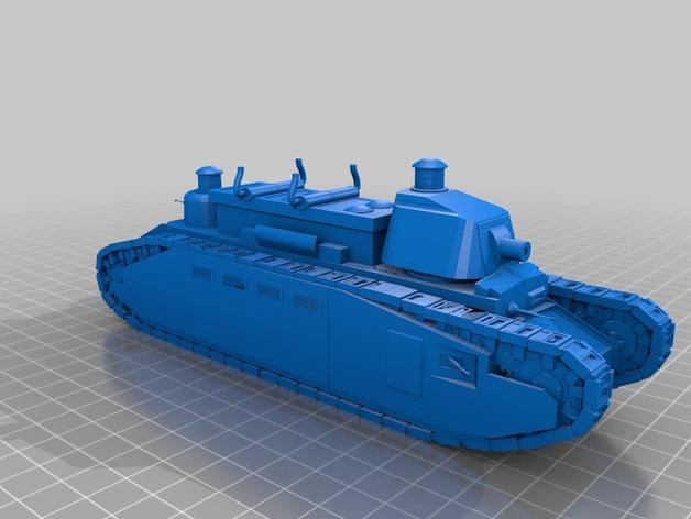 Les blindés et véhicules français en impression 3D 79495410