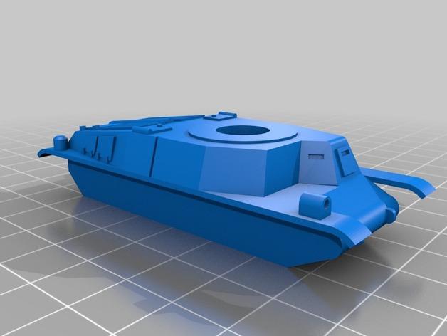 Les blindés et véhicules français en impression 3D Ce2d9e10