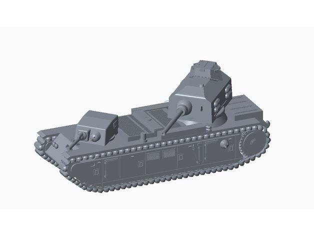 Les blindés et véhicules français en impression 3D D0297910