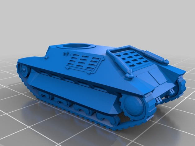 Les blindés et véhicules français en impression 3D Deb86710