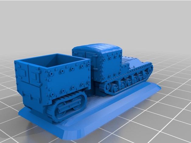 Les blindés et véhicules français en impression 3D Ecc58510