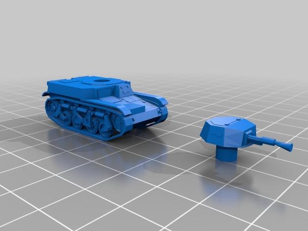 Les blindés et véhicules français en impression 3D F18eb210
