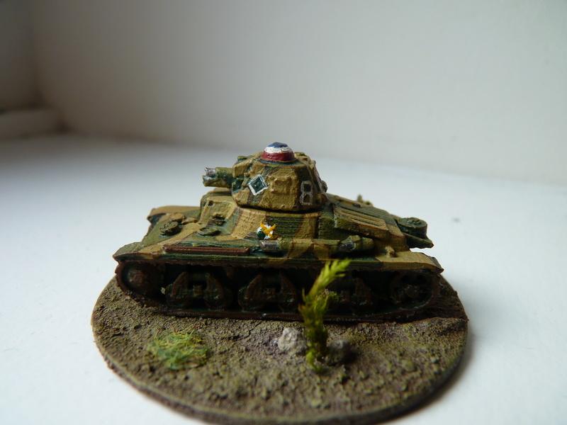 Char Hotchkiss H 35 du 3e escadron chars du 3e RAM (3e DLC), mai 1940 P1490610