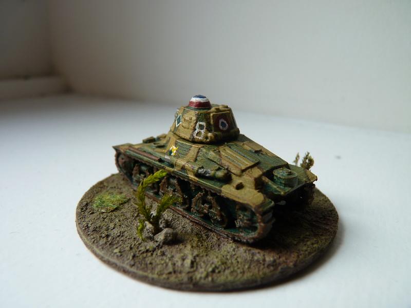 Char Hotchkiss H 35 du 3e escadron chars du 3e RAM (3e DLC), mai 1940 P1490611
