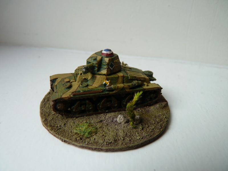 Char Hotchkiss H 35 du 3e escadron chars du 3e RAM (3e DLC), mai 1940 P1490612