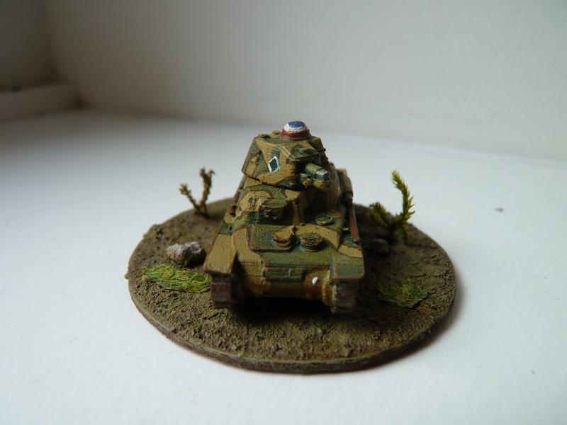 Char Hotchkiss H 35 du 3e escadron chars du 3e RAM (3e DLC), mai 1940 P1490615