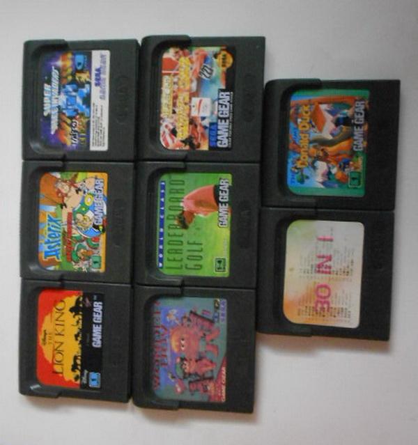 المجموعة السابعة - Group G - game gear Dscn6422