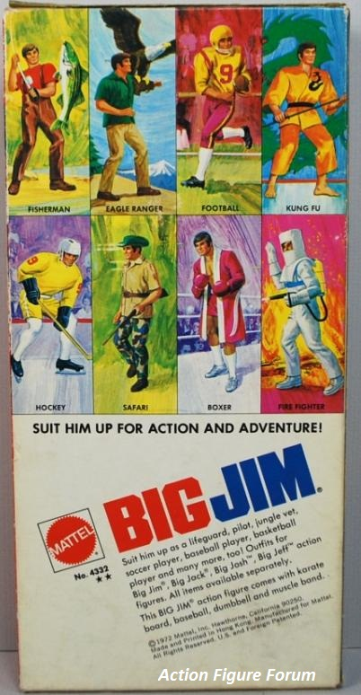 BIG JIM  No. 4332 - seconda versione a Box largo -  238