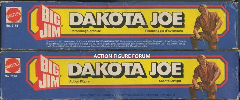 "DAKOTA JOE ""standard/economico"" No. 2178 315"