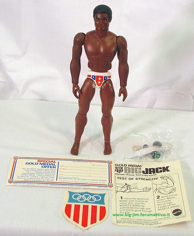 """BIG JACK Gold Medal N° 7364 """" USA Version """" Bj2o10"""