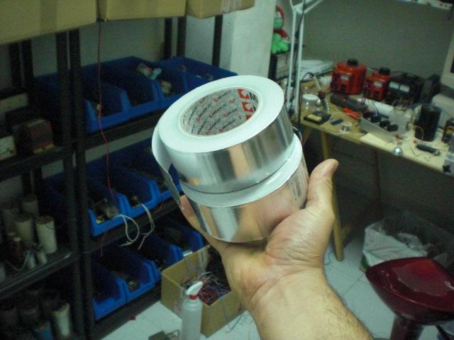 COIL FOR ELECTRO MAGNETS NIKOLA TESLA  Cimg3217