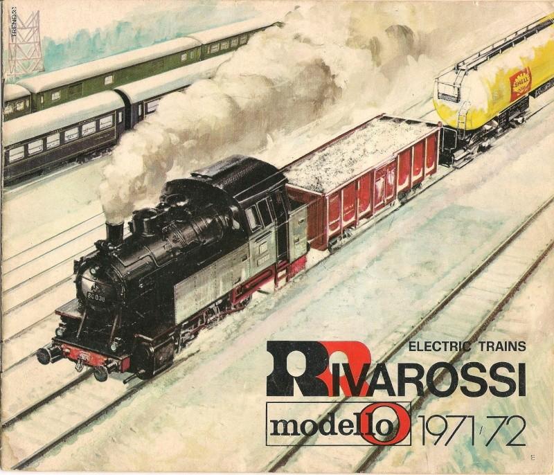 Le catalogue Rivarossi modello O 1971-72: complémentarité et concurrence. 00111
