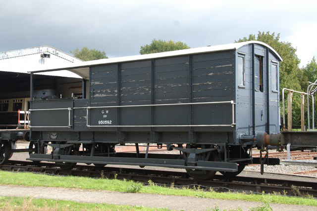 Le Wagon Brake Van Great Western Railways 68532710