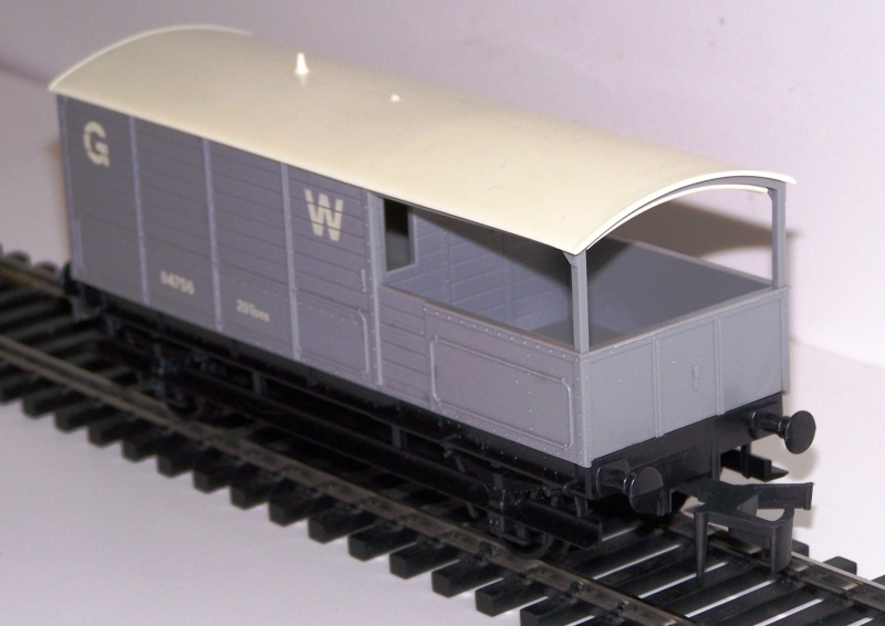 Le Wagon Brake Van Great Western Railways Lima_b11
