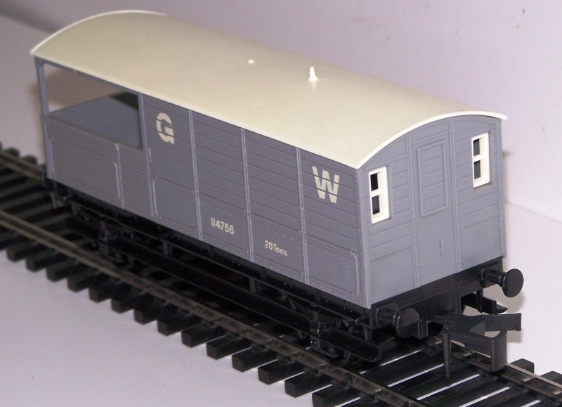 Le Wagon Brake Van Great Western Railways Lima_b12