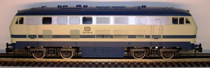 La locomotive diesel V160 Baureihe 216 et 218 de la DB de Lima au 1:45. Lima_o32