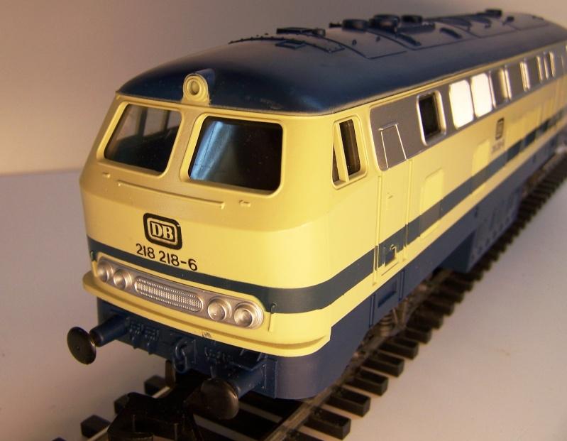 La locomotive diesel V160 Baureihe 216 et 218 de la DB de Lima au 1:45. Lima_o34