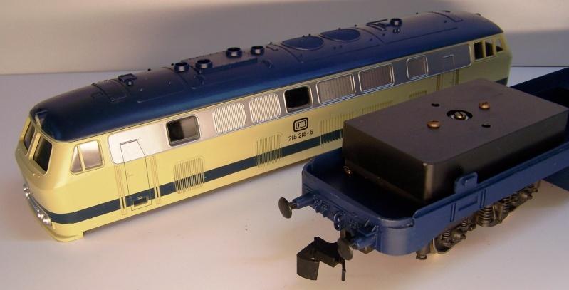 La locomotive diesel V160 Baureihe 216 et 218 de la DB de Lima au 1:45. Lima_o35