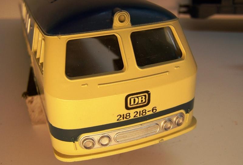 La locomotive diesel V160 Baureihe 216 et 218 de la DB de Lima au 1:45. Lima_o40