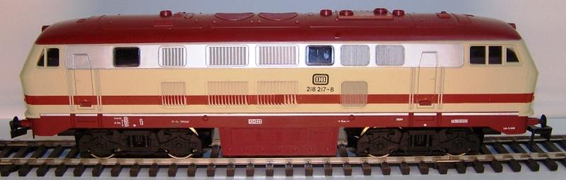 La locomotive diesel V160 Baureihe 216 et 218 de la DB de Lima au 1:45. Lima_o42