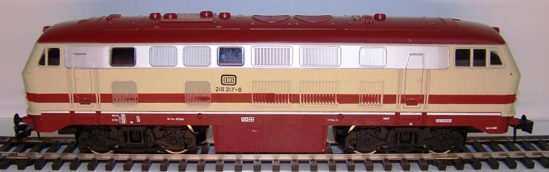 La locomotive diesel V160 Baureihe 216 et 218 de la DB de Lima au 1:45. Lima_o43