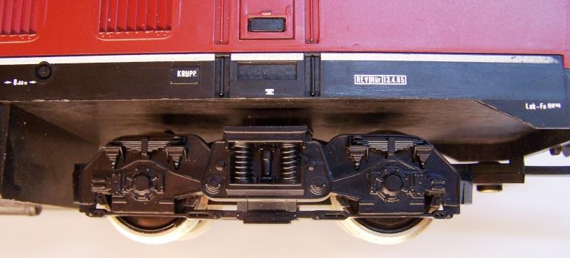 La locomotive diesel V160 Baureihe 216 et 218 de la DB de Lima au 1:45. Lima_o47