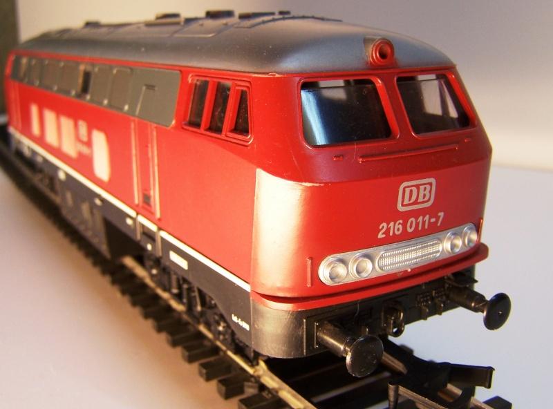 La locomotive diesel V160 Baureihe 216 et 218 de la DB de Lima au 1:45. Lima_o50