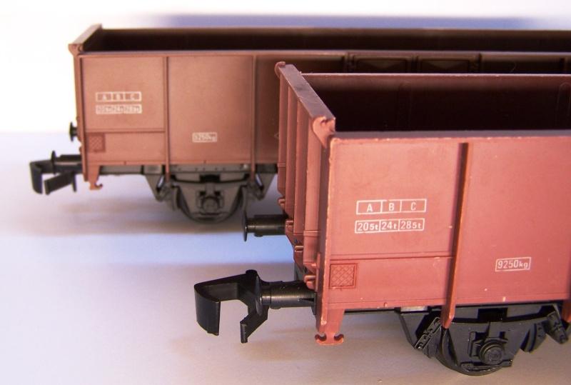 Constitution du wagon tomberau type europeen de Lima au 1/45. Lima_t19
