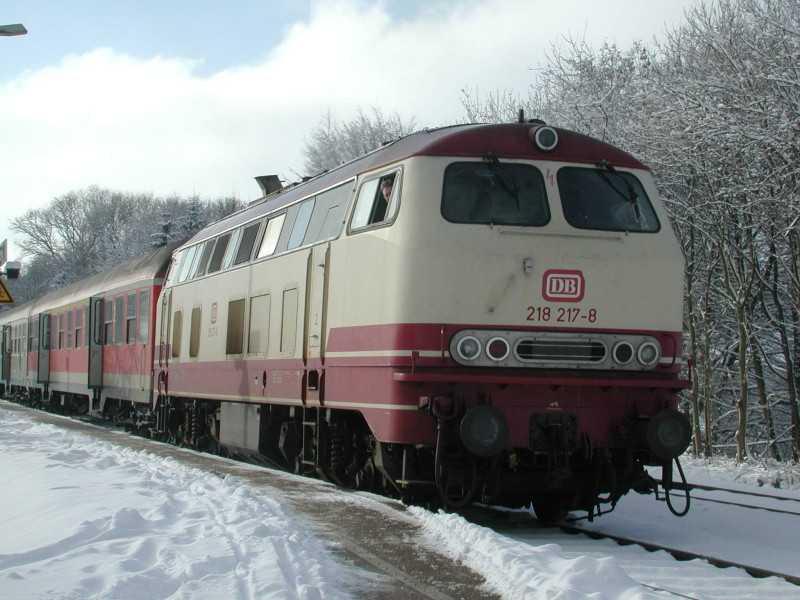 La locomotive diesel V160 Baureihe 216 et 218 de la DB de Lima au 1:45. R_16_210
