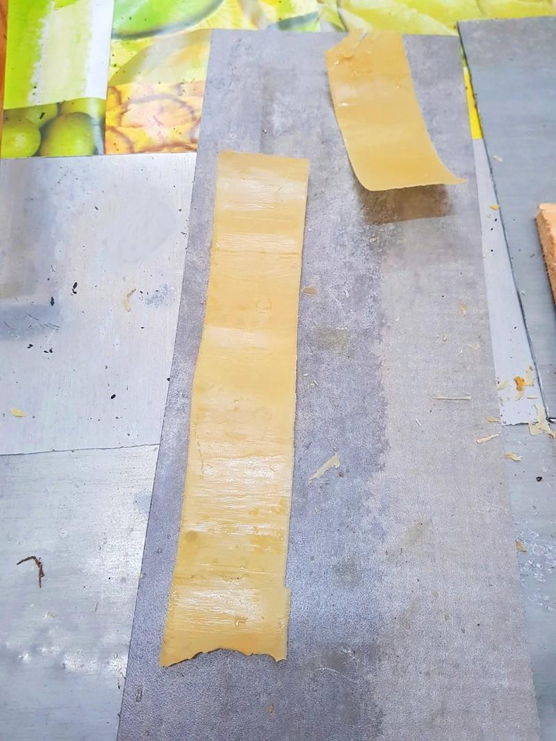 Bandelettes de cire pour cadres à jambage M10