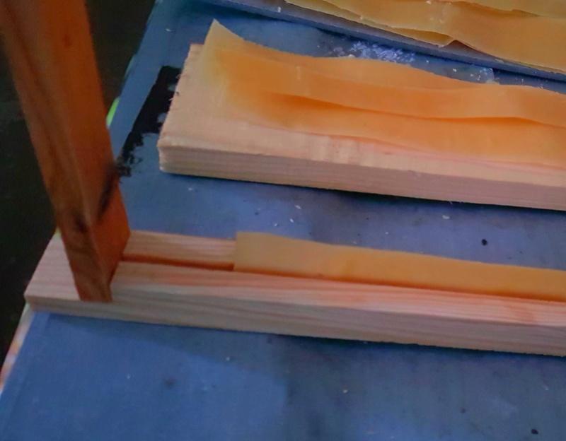 Bandelettes de cire pour cadres à jambage O10