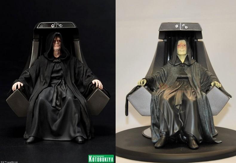 Kotobukiya - Star Wars Emperor Palpatine ARTFX+ statue Empero11