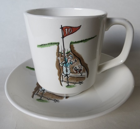 Golfing Pat.No.515 cup and saucer  Crown_14