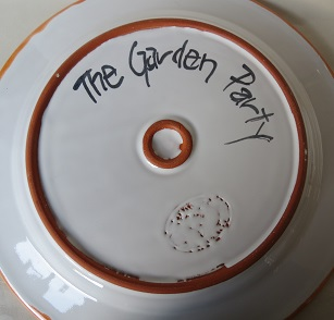 The Garden Party and China Blue platters  Garden10