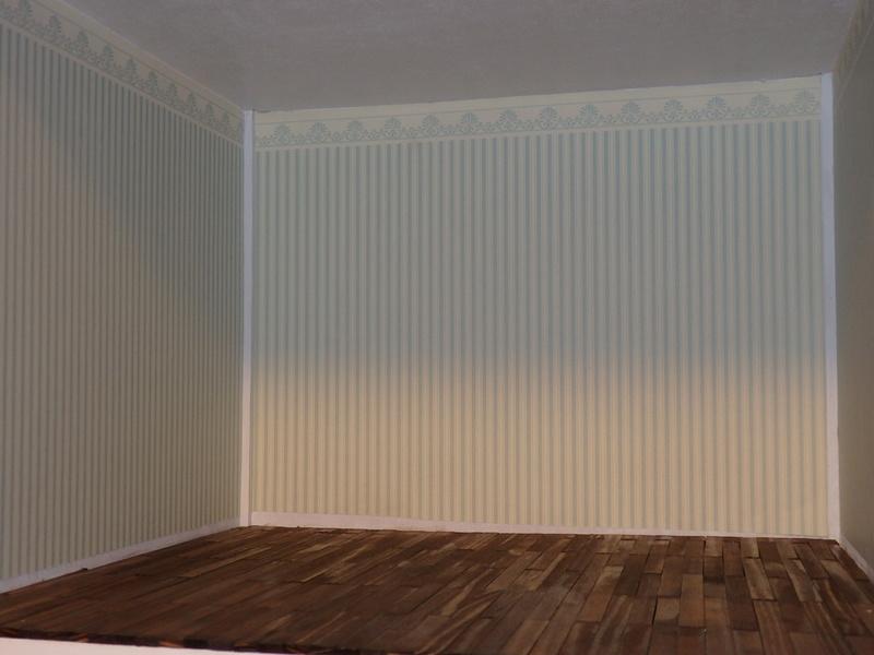 Puppenhaus DelPrado mit Umbau / Änderung / Zubehör P9121410