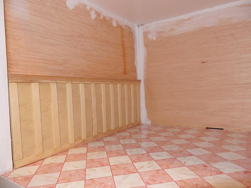 Puppenhaus DelPrado mit Umbau / Änderung / Zubehör P9151412