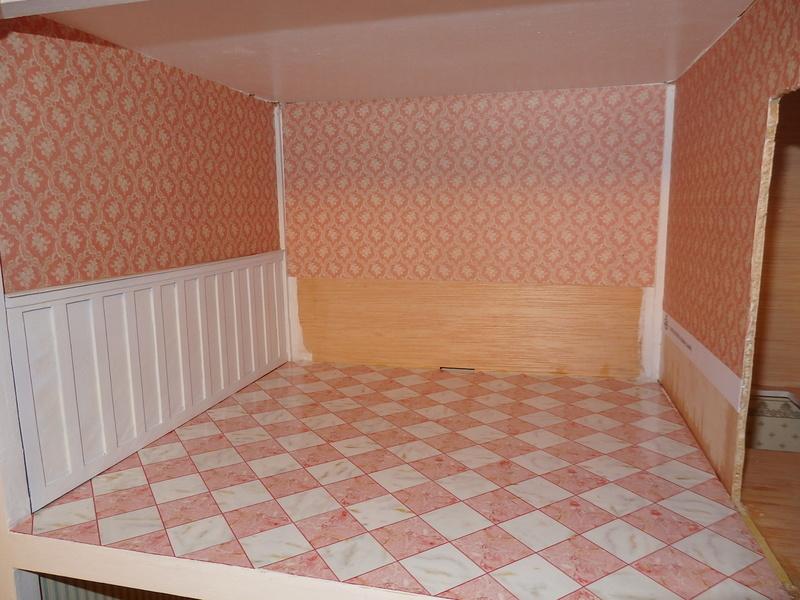 Puppenhaus DelPrado mit Umbau / Änderung / Zubehör P9221415