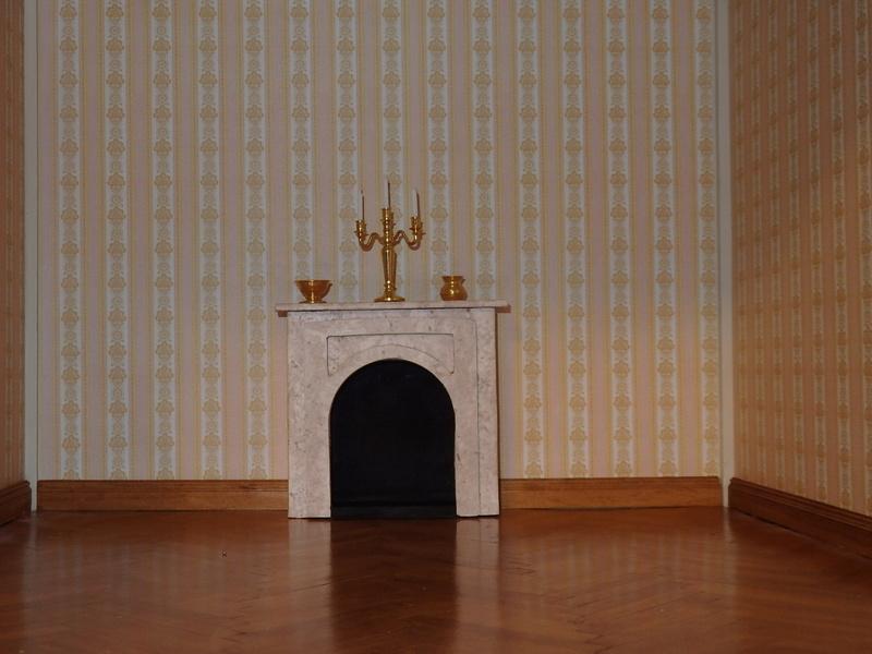 Puppenhaus DelPrado mit Umbau / Änderung / Zubehör Pa021510