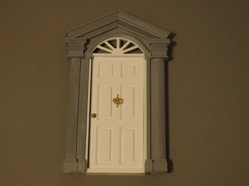 Puppenhaus DelPrado mit Umbau / Änderung / Zubehör Pa081513