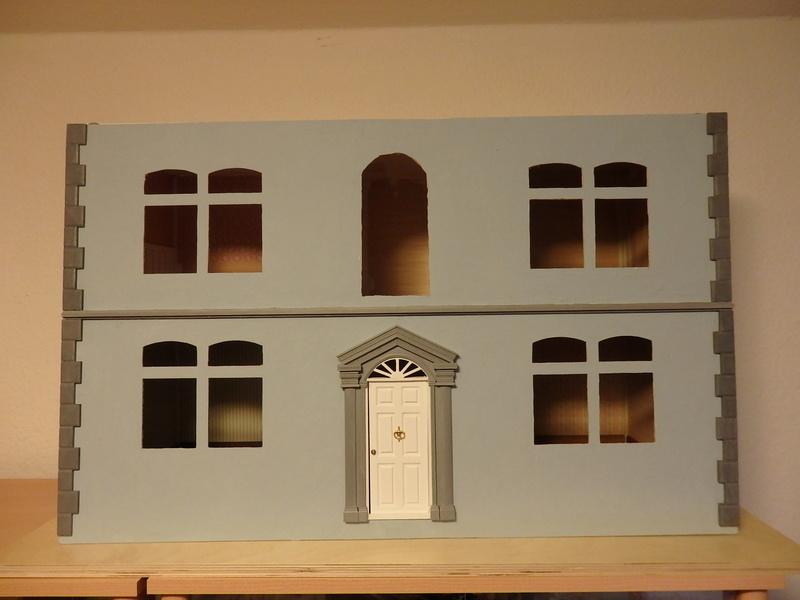 Puppenhaus DelPrado mit Umbau / Änderung / Zubehör Pa081514