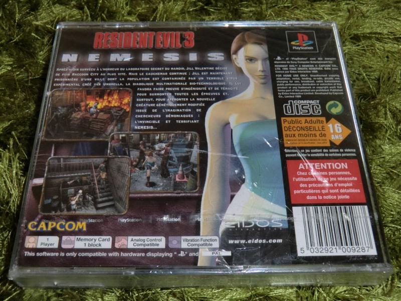 Resident evil 2 et 3 sous blister 75€ arnaque ? Cimg7711