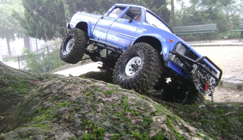 Les Toyota Hilux 2 & 4 portes RC4WD Trail Finder 2 RTR de Trankilou &Trankilette - Page 2 Dsc04763