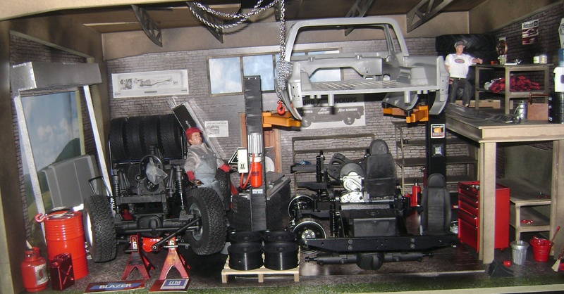 Les Toyota Hilux 2 & 4 portes RC4WD Trail Finder 2 RTR de Trankilou &Trankilette - Page 4 Dsc05078