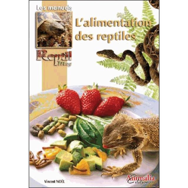 Livre alimentation des reptiles L-alim10