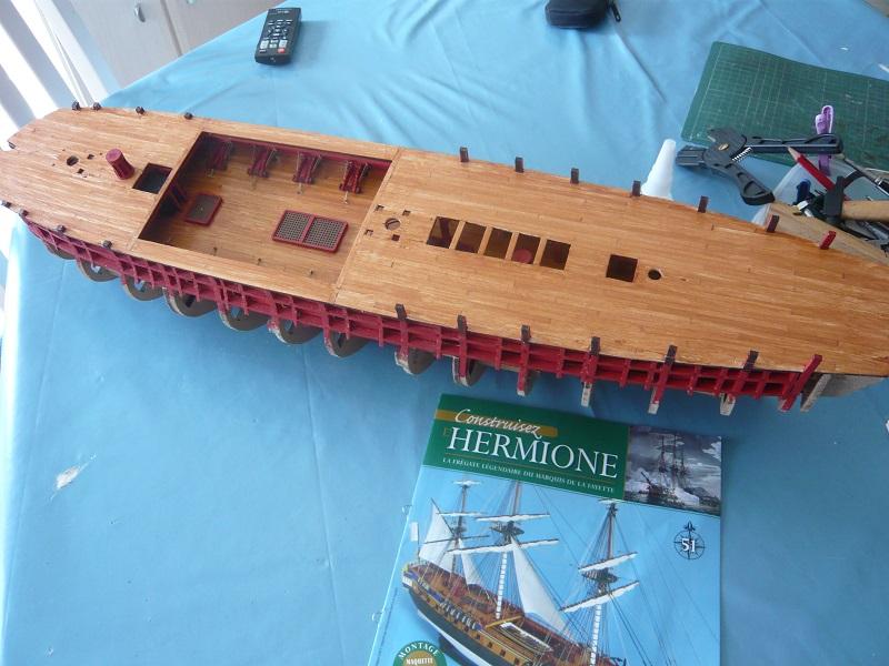 L'Hermione de chez Hachette au 1/64  - Page 6 Hermio36