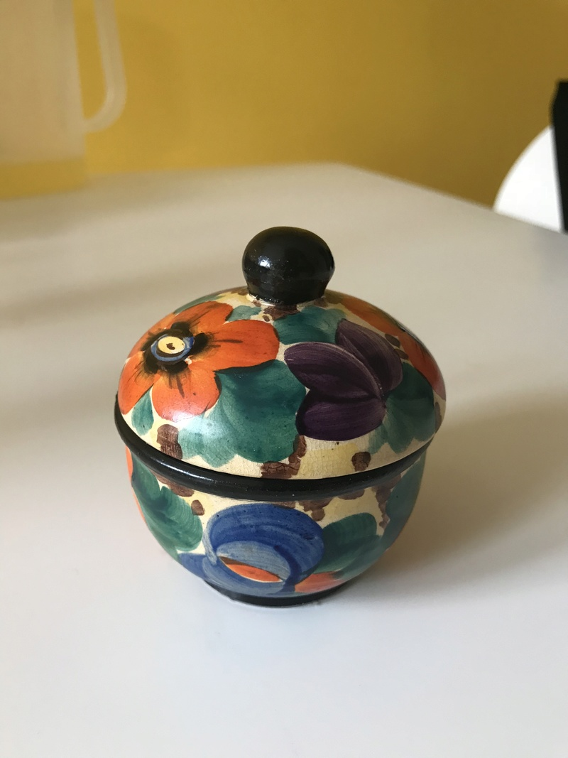 Loverly Art Deco Hand thrown Pot, Mrazek (Czech). Img_7710