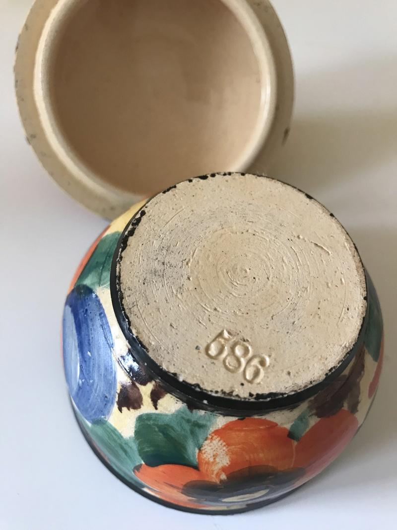 Loverly Art Deco Hand thrown Pot, Mrazek (Czech). Img_7711