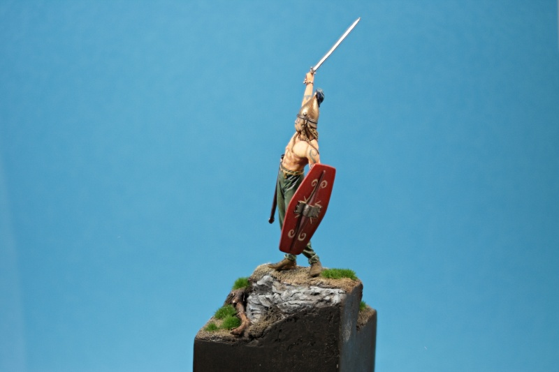 ELITE MINIATURAS- RG/54.08-Celtic Warrior, 3rd. Century B.C. 13-01-15
